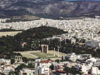 The view from the Acropolis