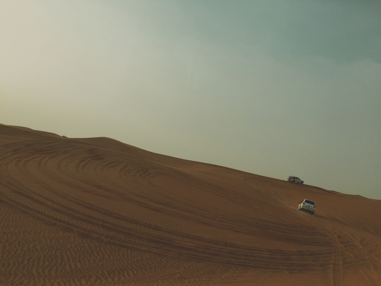 Dune Bashing, Dubai - Sunset