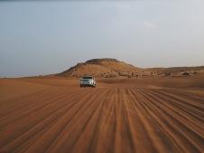 Dune Bashing, Dubai dessert