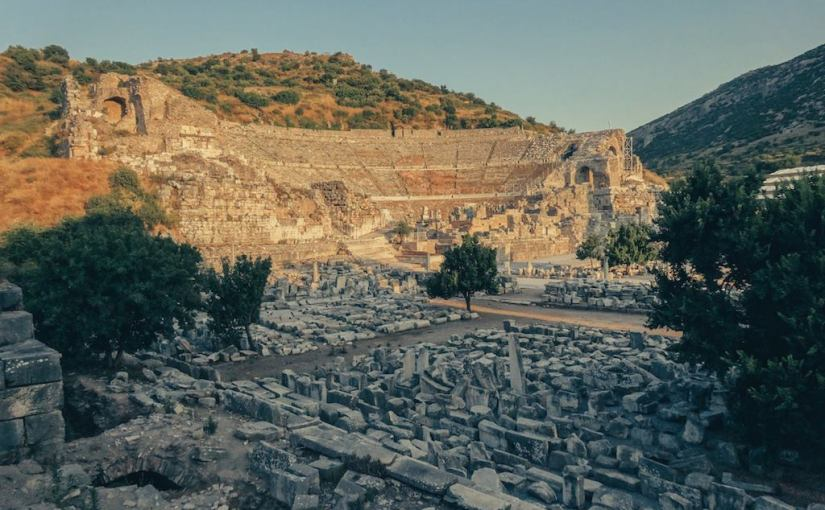Gateway to an ancient city called Ephesus – Kusadasi,Turkey