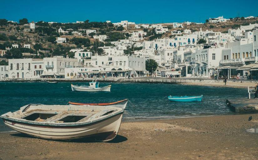Day trip to Mykonos Island,Greece