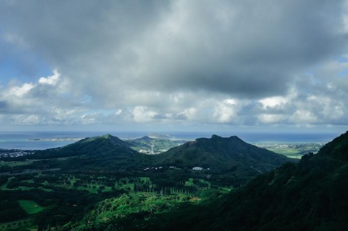 Nuuana Pali Lookout-1