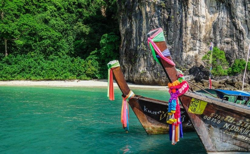 Island Hopping in Krabi,Thailand.